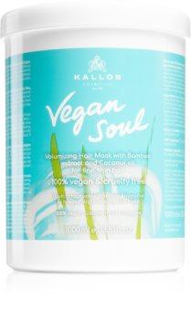 Kallos Vegan Soul Voedende Masker  voor meer volume