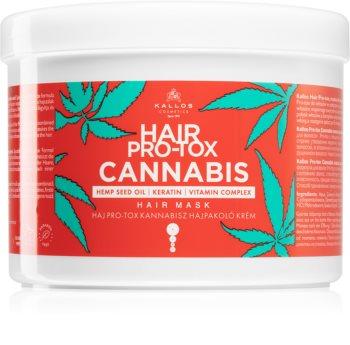 Kallos Hair Pro-Tox Cannabis masca de par regeneratoare cu ulei de canepa