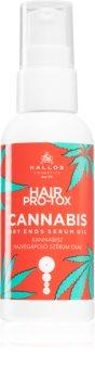 Kallos Hair Pro-Tox Cannabis олио - серум за сухи краища на косата