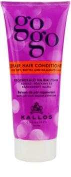 Kallos Gogo acondicionador regenerador para cabello seco y dañado