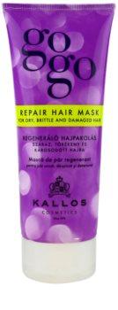 Kallos Gogo masque régénérant pour cheveux secs et abîmés