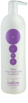 Kallos KJMN condicionador hidratante para cabelo seco a danificado