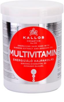 Kallos Multivitamin energizáló maszk a hajra