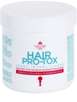 Kallos KJMN acondicionador sin aclarado para cabello seco y dañado