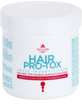 Kallos KJMN balsam  (nu necesita clatire) pentru păr uscat și deteriorat