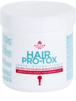 Kallos KJMN bezoplachový kondicionér pro suché a poškozené vlasy