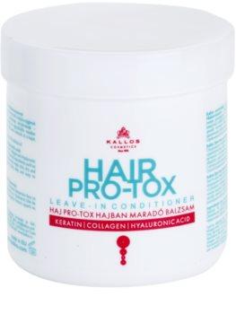 Kallos KJMN Hiuksiin Jätettävä Hoitoaine Kuiville Ja Vaurioituneille Hiuksille