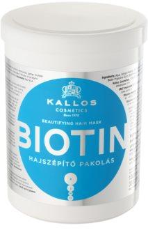 Kallos KJMN маска за тънка, слаба и късаща се коса