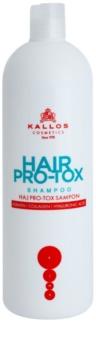 Kallos KJMN σαμπουάν με κερατίνη για ξηρά και κατεστραμμένα  μαλλιά