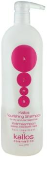 Kallos KJMN Shampoo mit ernährender Wirkung für trockenes und beschädigtes Haar