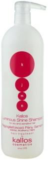 Kallos KJMN szampon rozświetlający do włosów suchych i wrażliwych