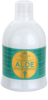Kallos KJMN shampoo ricostituente  con aloe vera