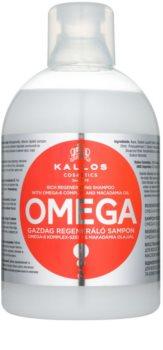 Kallos KJMN Uudistava Hiustenpesuaine Omega-6 Yhdistelmällä Ja Macadamiaöljyllä