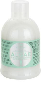Kallos KJMN hidratáló sampon alga és olívaolaj kivonattal