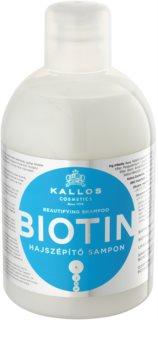 Kallos KJMN Shampoo voor Dun, Zwak en Breekbaar Haar
