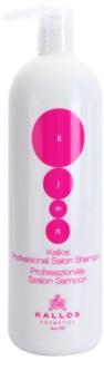 Kallos KJMN shampoo nutriente per rigenerare e rinforzare i capelli