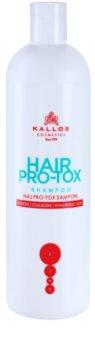 Kallos KJMN šampon s keratinem pro suché a poškozené vlasy