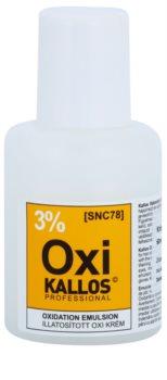 Kallos Oxi кремообразна активираща емулсия 3%