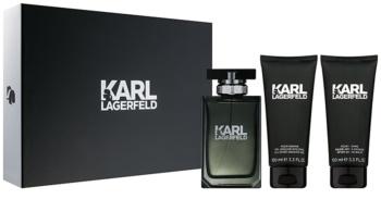 Karl Lagerfeld Karl Lagerfeld for Him lote de regalo I.