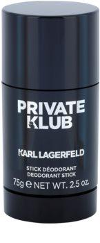Karl Lagerfeld Private Klub Deodorant Stick for Men