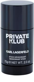 Karl Lagerfeld Private Klub desodorante en barra para hombre