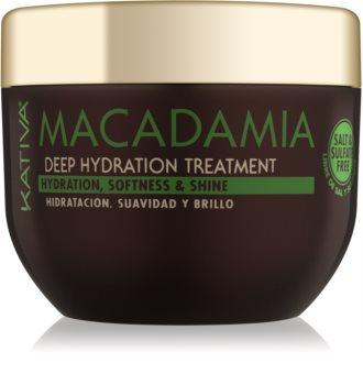 Kativa Macadamia mascarilla hidratante y regeneradora para todo tipo de cabello