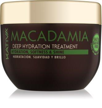 Kativa Macadamia відновлююча та зволожуюча маска для всіх типів волосся