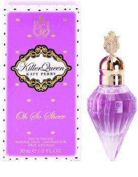 Katy Perry Killer Queen Oh So Sheer eau de parfum para mujer 30 ml