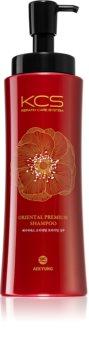 KCS Oriental Premium Shampoo sampon a száraz és matt hajra