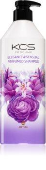 KCS Elegance & Sensual Perfumed Shampoo sampon száraz és sérült hajra