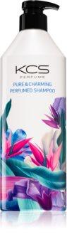 KCS Pure & Charming Perfumed Shampoo jemný aromatický šampon pro rozzáření mdlých vlasů