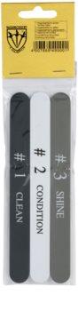 Kellermann Accessories leštička na nehty 3 ks