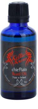 Keltic Krew Chieftain óleo para barba com aroma de menta e canela