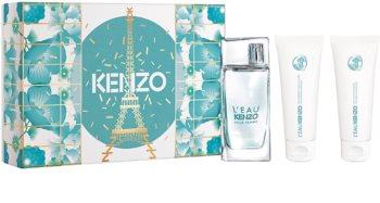 Kenzo L'Eau Kenzo Pour Femme Gavesæt  I. til kvinder