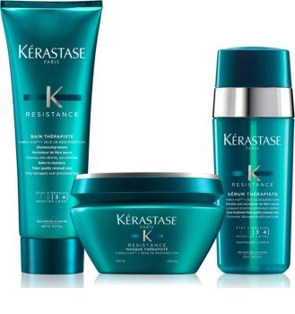 Kérastase Résistance Thérapiste изгодна опаковка (за увредена коса) за жени