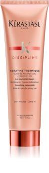 Kérastase Discipline Kératine Thermique Hitzeschutzmilch für unnachgiebige und strapaziertes Haar