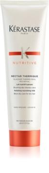 Kérastase Nutritive Nectar Thermique vyhladzujúce a vyživujúce termoochranné mlieko pre suché vlasy