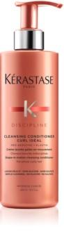 Kérastase Discipline Curl Idéal čisticí kondicionér pro nepoddajné vlnité a kudrnaté vlasy