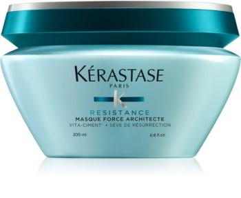 Kérastase Résistance Masque Force Architecte подсилваща маска за слаба, увредена коса и цъфтящи краища