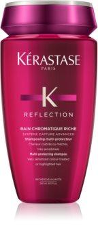 Kérastase Reflection Bain Chromatique Riche προστατευτικό και θρεπτικό σαμπουάν για βαμμένα και ευαίσθητα  μαλλιά