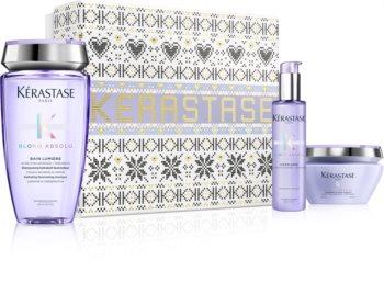 Kérastase Blond Absolu Geschenkset II. (für blondiertes Haar oder Strähnchen)