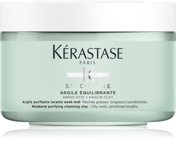 Kérastase Specifique Argile Équilibrante Cleansing Mineral Clay Mask For Scalp And Hair Roots