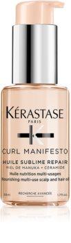 Kérastase Curl Manifesto Huile Sublime Repair tápláló olaj a hullámos és göndör hajra
