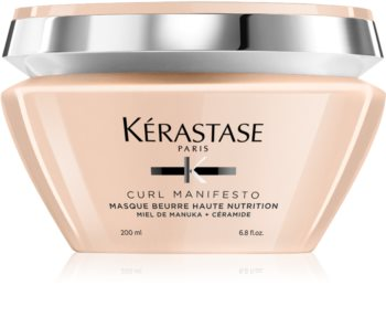 Kérastase Curl Manifesto Masque Beurre Haute Nutrition tápláló maszk a hullámos és göndör hajra