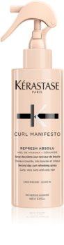 Kérastase Curl Manifesto Refresh Absolu felpezsdítő spray a hullámos és göndör hajra