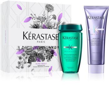 Kérastase Blond Absolu x Résistance Extentioniste Gift Set  I. (voor Blond en Highlighted Haar )