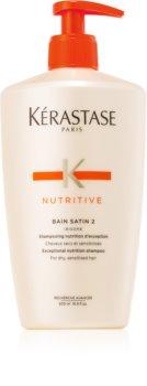 Kérastase Nutritive Bain Satin 2 vyživující šamponová lázeň pro suché zcitlivělé vlasy