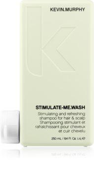 Kevin Murphy Stimulate-Me Wash Stimuloiva ja Virkistävä Hiustenpesuaine Hiuksille Ja Päänahalle