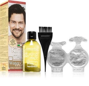 King Italy Water Color Permanent Hair Dye for Men