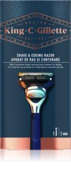 King C. Gillette Shave & Edginf Razor Shaver